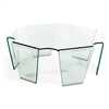 Circuit Coffee Table Clear