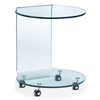 Mission Side Table Clear