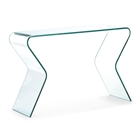 Respite Console Table Clear