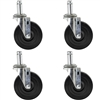 Rubber Stem Casters