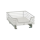 "14 1/2""w Chrome Sliding Organizer for shelves"