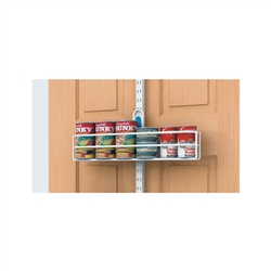 Over the Door Can Holder - White