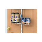 Over the Door Large Can Holder - White