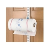 Over the Door Paper Towel Holder - White
