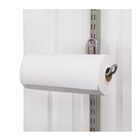 Over-the-Door Paper Towel Holder - Nickel