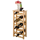 28-Bottle Wine Rack in beech wood