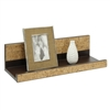 Accented Cork Wall Mounting Shelf