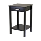 Liso end table is a multipurpose table.