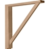 "Traditional Shelf Bracket 17.75""d"