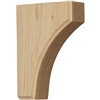 "Clarksville Wood Bracket 4""d"