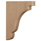 "Bedford Wood Bracket 7.25""d"