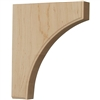 "Clarksville Wood Bracket 8""d"