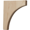 "Clarksville Wood Bracket 10""d"