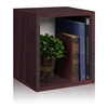 Eco friendly storage cubes in multiple colors