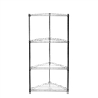 "24""d Triangle Corner Shelving with 4 Shelves"