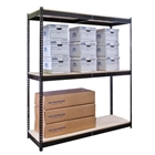 "Steel Shelving 18""d by Hallowell"