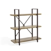Three Level Rustic Shelving Unit