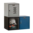 Cubix Locker by Hallowell in Blue, Ebony, or Platinum