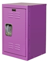 Mini kids locker in bubble gum pink