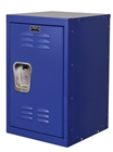 Mini kids locker in blue