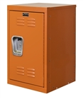 Mini kids locker in orange