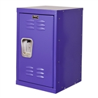 Mini kids locker in purple