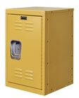 Mini locker in yellow