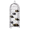 Bordeaux Chateau wine rack with 23 rings