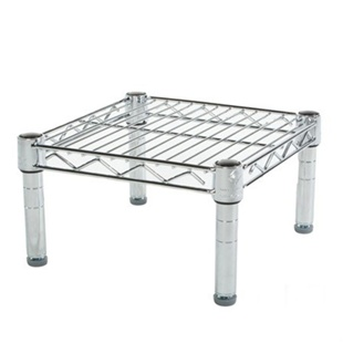 "12""d Wire Shelving rack with 1 Shelf"