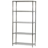 "14""d x 36""w Wire Shelving Unit with 5 Shelves"