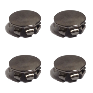 4 Pack of Corner Caps for Wall Mounted Wire Shelving