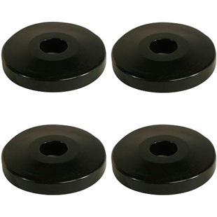Four pack of donut bumpers