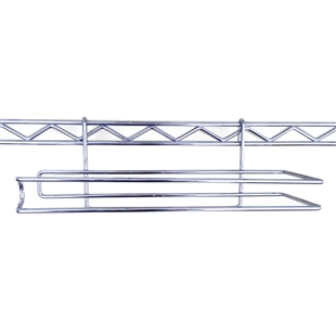 Wire Paper Towel Holder for Wire Shelving