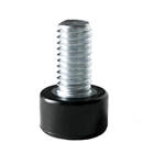 Post leveling Bolt for wire shelving uprights