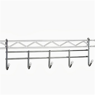 Wire Coat Rack for Wire Shelving