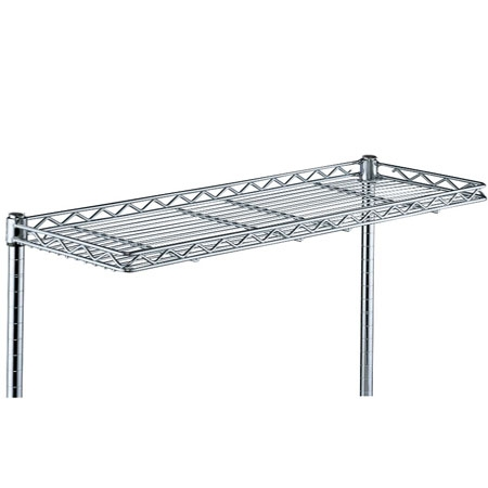 cantilever chrome wire shelving larger photo email a friend - Chrome Wire Shelving