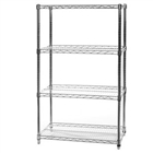 4 Shelf Custom Wire Shelving Kit