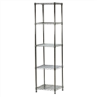 5-Shelf Custom Wire Shelving Kit