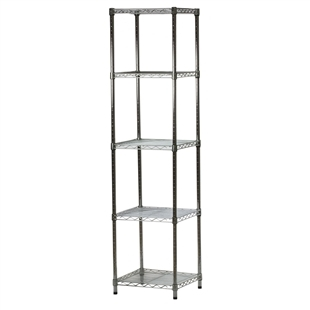 5 Shelf Custom Wire Shelving Kit