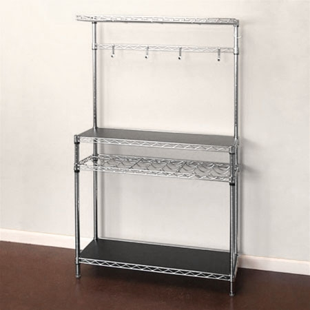 14 D Baker S Rack With Wine The
