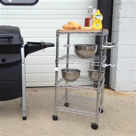 Butcher Block Kitchen Cart Canada : Kitchen Cart 18
