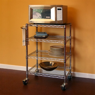 "Kitchen Kit 12""d x 30""w x 34""h Cart"