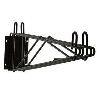 Black wall bracket