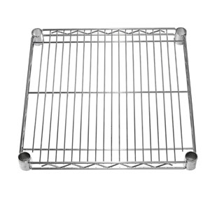 "SI Chrome Wire Shelf 18""d"