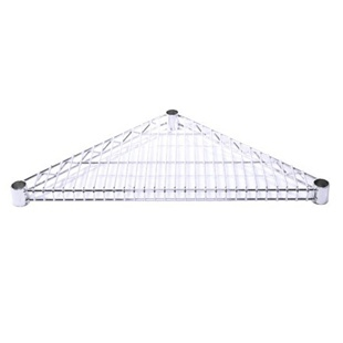 SI Chrome Wire Triangle Shelf