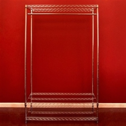 Wire Shelving Wardrobe Kits