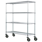 "14""d Mobile Wire Shelving Trucks"