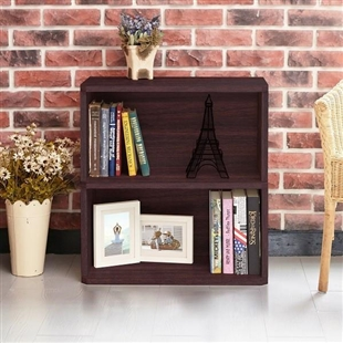 Webster 2-Shelf Bookcase