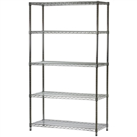 5 shelf units - Wire Shelving Units