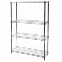 "12""x36""x64"" Shelving Wire Unit with 4 Shelves"